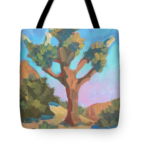 Early Bloom Joshua Tote Bag
