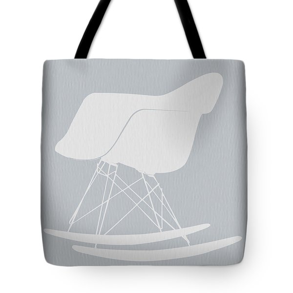 Eames Rocking Chair Tote Bag by Naxart Studio