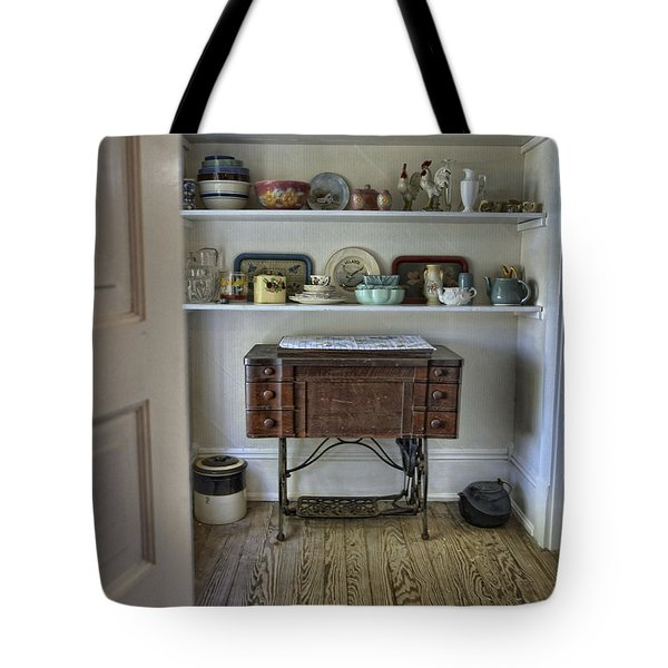 Tote Bag featuring the photograph Early American Style by Charles McKelroy