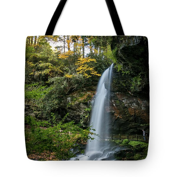 Early Autumn At Dry Falls Tote Bag