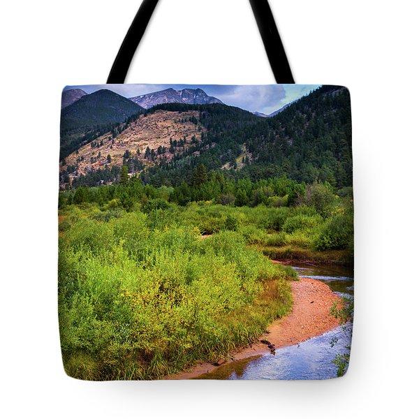 Tote Bag featuring the photograph Early Autumn In Colorado by John De Bord