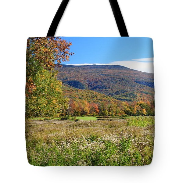 Early Autumn In The Berkshires Tote Bag