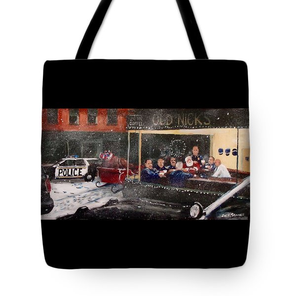 Early Christmas Morning Coffee Tote Bag