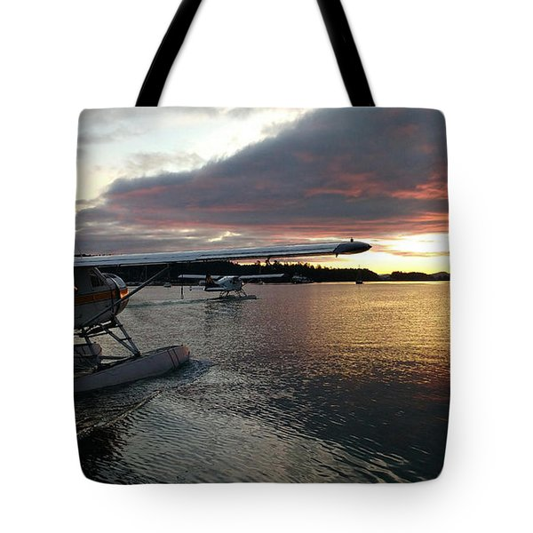 Early Departures Tote Bag