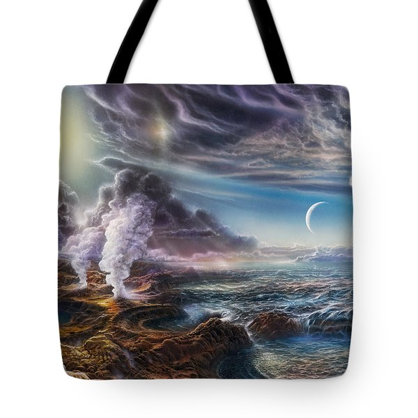 Early Earth Tote Bag by Don Dixon