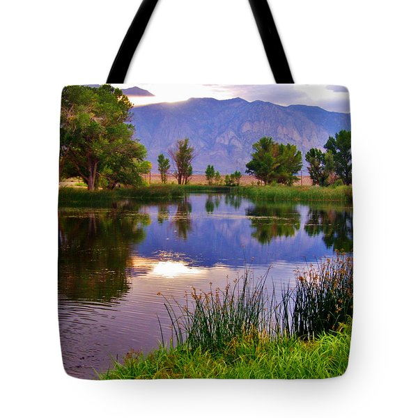 Early Evening Reflections Tote Bag