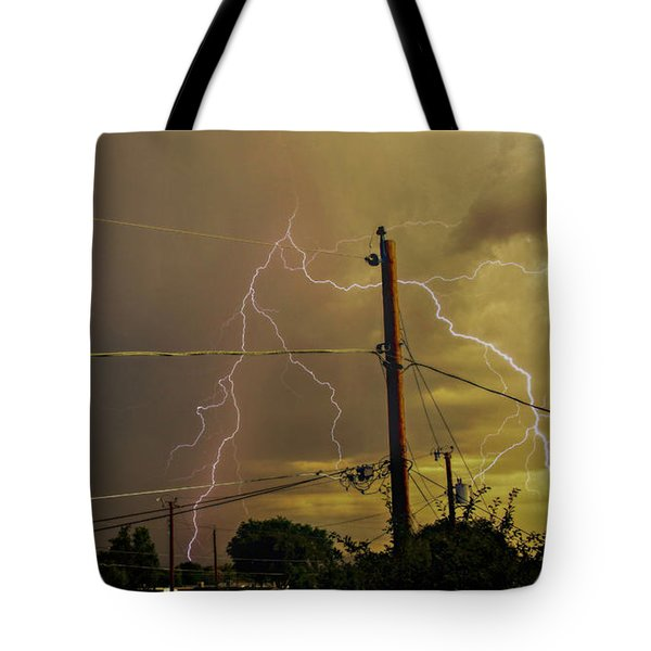 Early Evening Storm Tote Bag