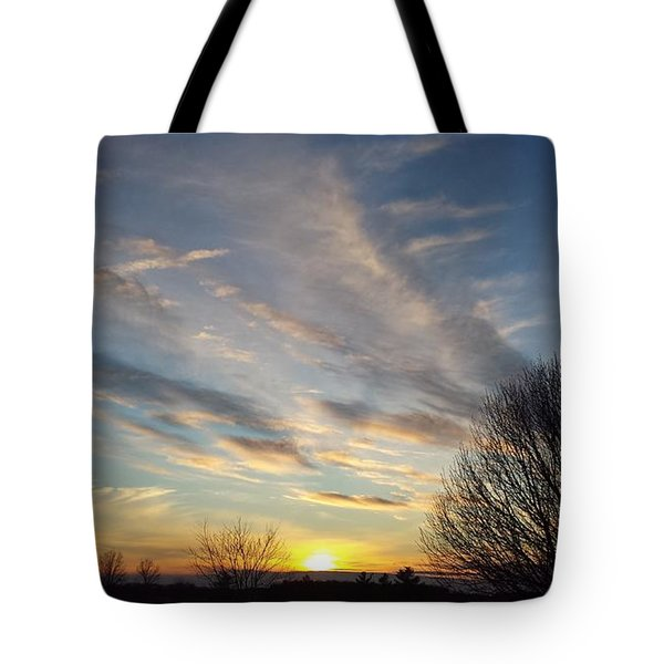 Early Evening Tote Bag