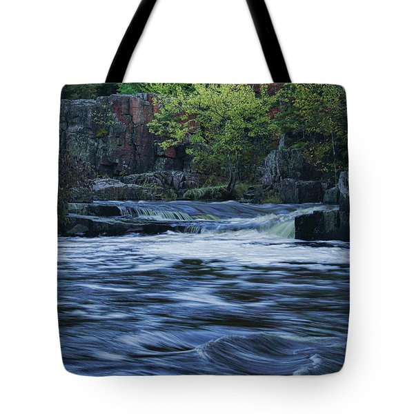Tote Bag featuring the photograph Early Fall At Eau Claire Dells Park by Dale Kauzlaric