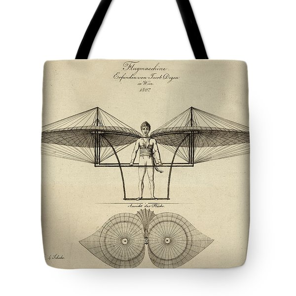 Early Flight Tote Bag