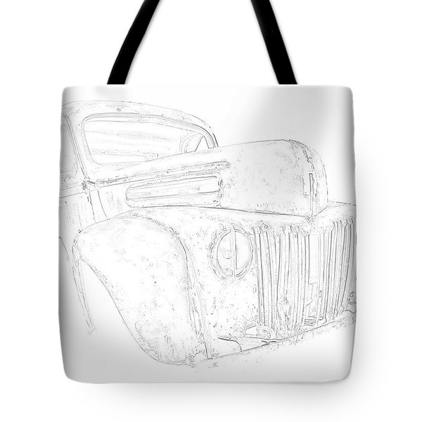 Early Ford Truck Tote Bag