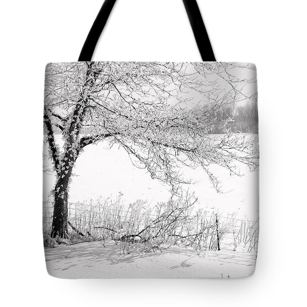 Early Frost Tote Bag