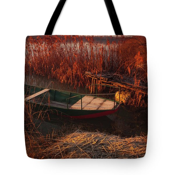 Early In The Morning Tote Bag