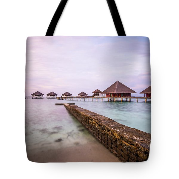 Tote Bag featuring the photograph Early In The Morning by Hannes Cmarits