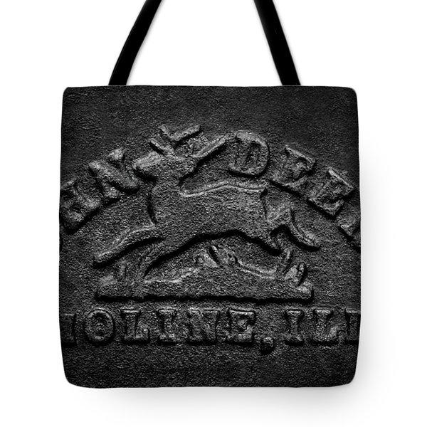 Early John Deere Emblem Tote Bag