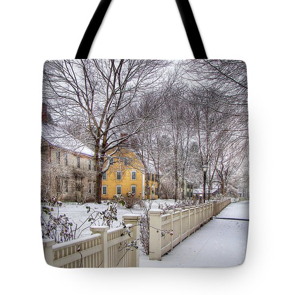 Early Massachusetts Tote Bag