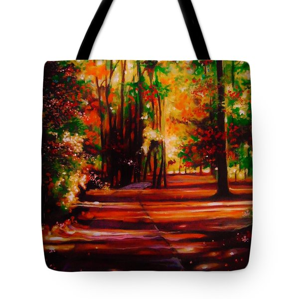 Early Monday Morning Tote Bag by Emery Franklin