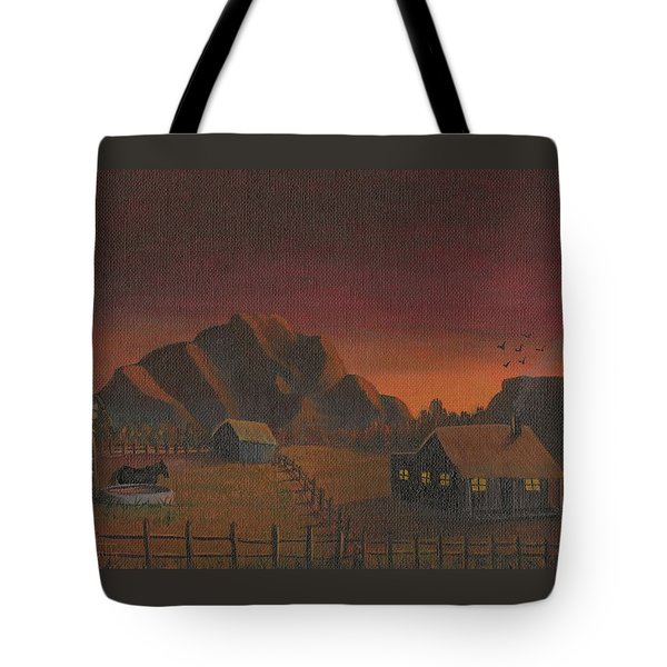 Early Mornin' Tote Bag