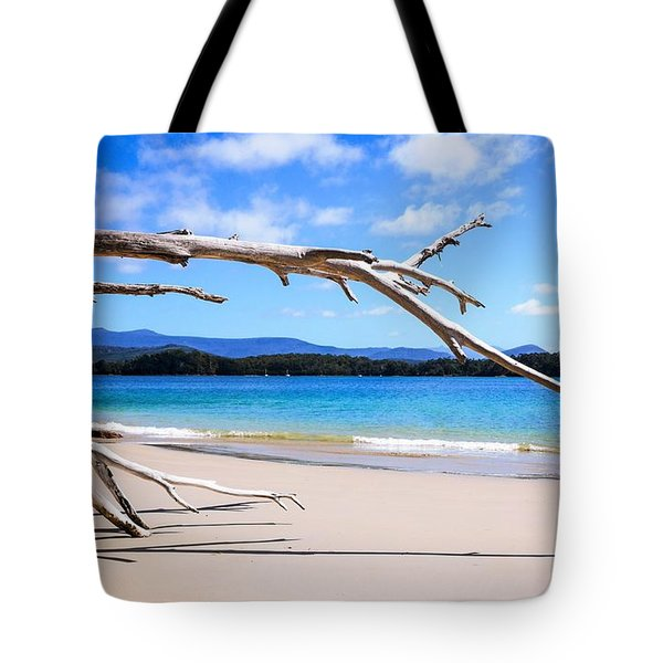 Early Morning At Cockle Creek Tote Bag by Lexa Harpell