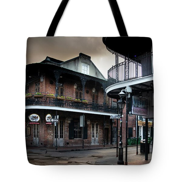 Early Morning At Cornet Tote Bag