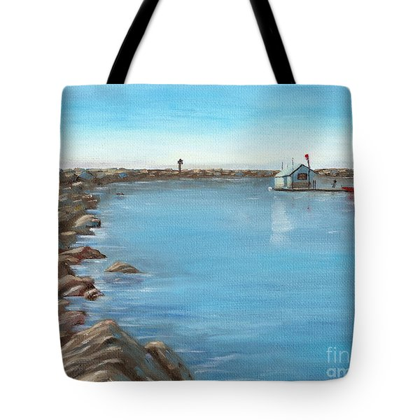 Early Morning At Dana Point Tote Bag