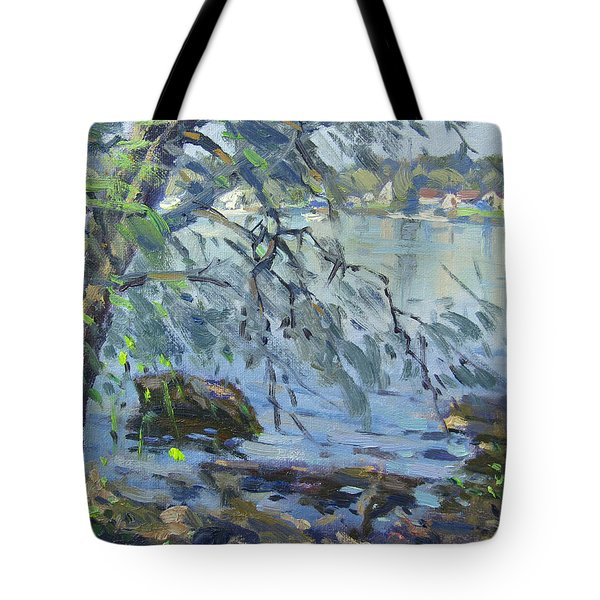 Early Morning At Fisherman's Park Tote Bag