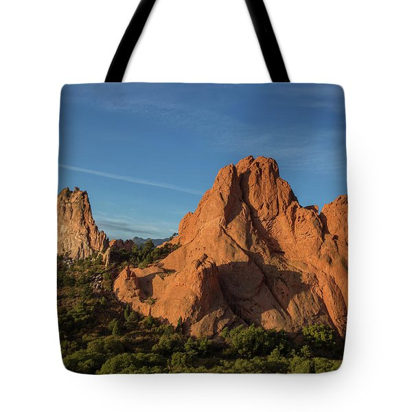 Early Morning At Garden Of The Gods Tote Bag