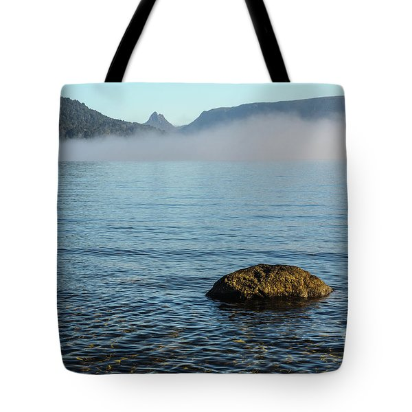 Tote Bag featuring the photograph Early Morning At Lake St Clair by Werner Padarin