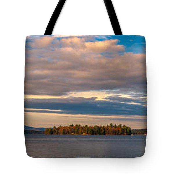 Early Morning At Lake Wentworth Tote Bag