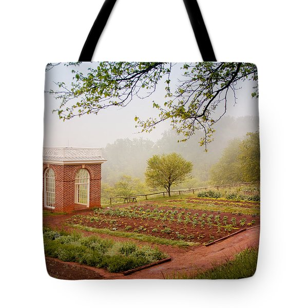 Early Morning At Monticello Tote Bag
