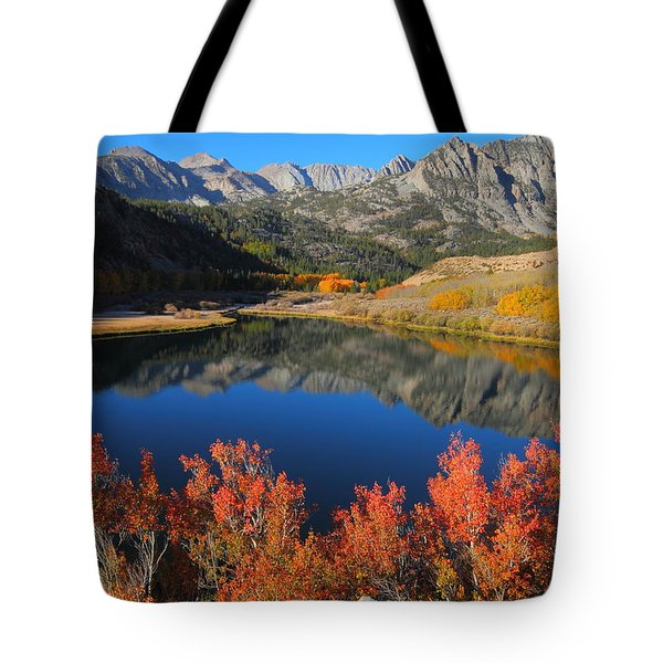 Early Morning At North Lake In Bishop Creek Canyon Tote Bag