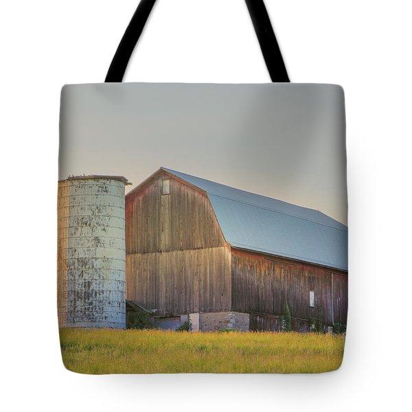 Early Morning Barn Tote Bag