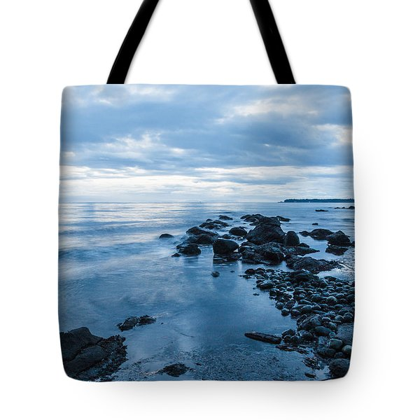 Early Morning Blues-2 Tote Bag