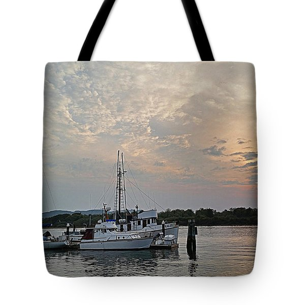 Tote Bag featuring the photograph Early Morning Calm by Suzy Piatt