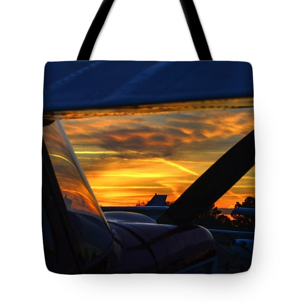 Early Morning Citabria Tote Bag
