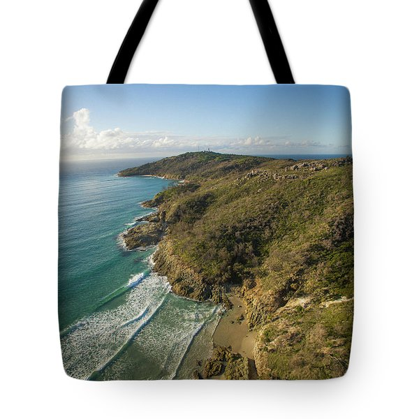 Early Morning Coastal Views On Moreton Island Tote Bag