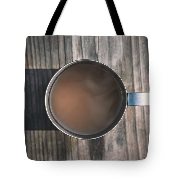 Early Morning Coffee  Tote Bag