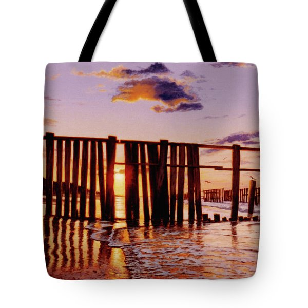 Early Morning Contrasts Tote Bag