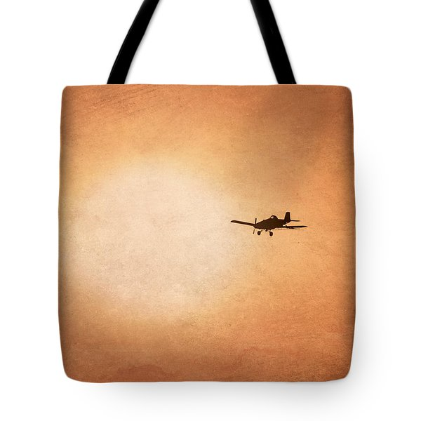 Early Morning Flight Tote Bag