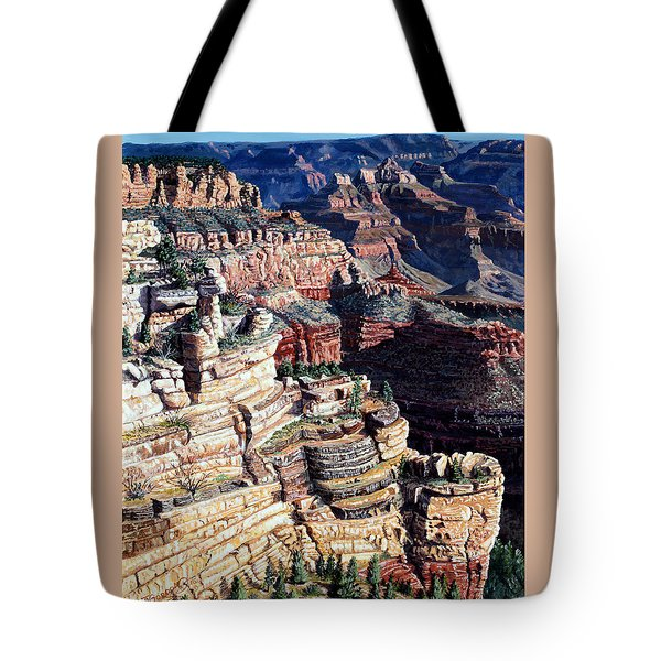 Early Morning From The South Rim Tote Bag