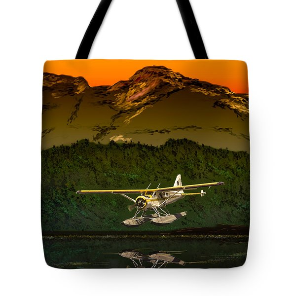 Early Morning Glass Tote Bag