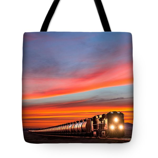 Early Morning Haul Tote Bag