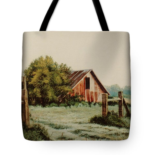 Early Morning In East Texas Tote Bag