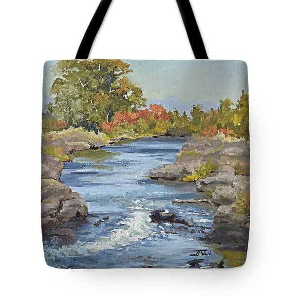 Early Morning In Idaho Tote Bag
