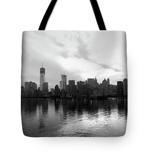 Early Morning In Manhattan Tote Bag
