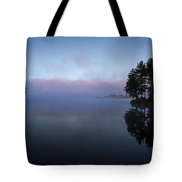Early Morning Lake Nimisila Tote Bag