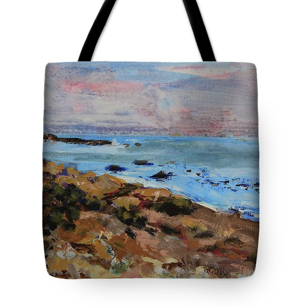 Early Morning Low Tide Tote Bag