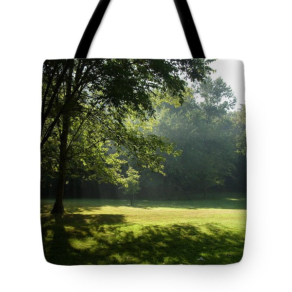 Early Morning Meadow Tote Bag by Cynthia Lassiter