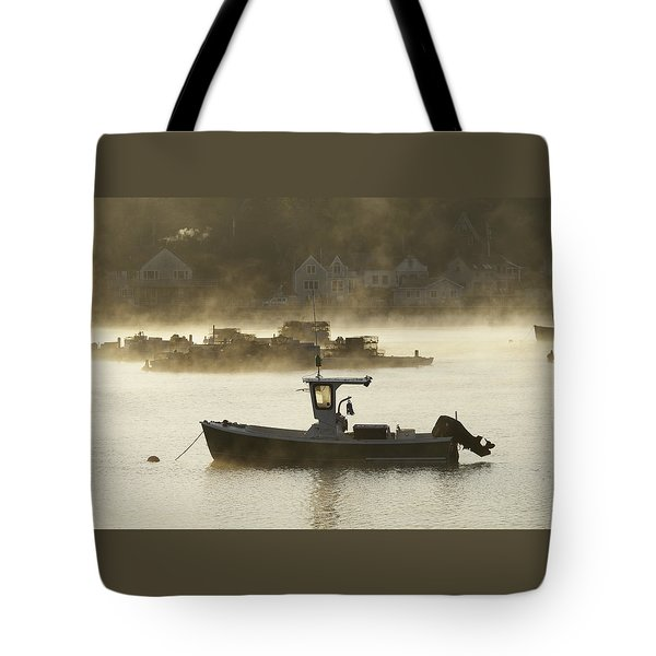 Early Morning Mist Tote Bag