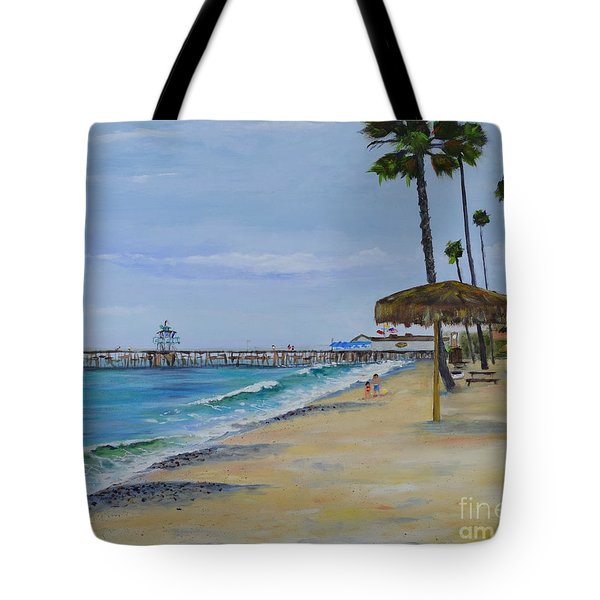 Early Morning On The Beach Tote Bag